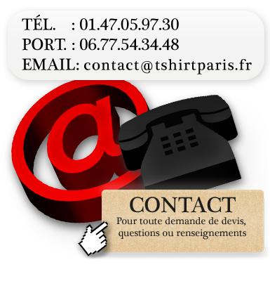 contactez tshirts